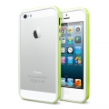 SGP Case Neo Hybrid EX Slim Snow Series Lime for iPhone 5, 5S (SGP10029)