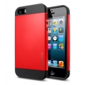 SGP Case Slim Armor Color Series Crimson Red for iPhone 5, 5S (SGP10100)