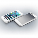 SGP Case Saturn Series Satin Silver for iPhone 5, 5S (SGP10141)
