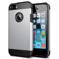 SGP Case Tough Armor Satin Silver for iPhone 5, 5S (SGP10491)