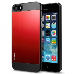SGP Case Saturn Metal Red for iPhone 5, 5S (SGP10143)