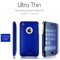SGP Ultra Thin Case Blue (with Crystal Film) for iPhone 3G/3GS