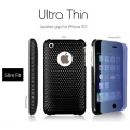 SGP Ultra Thin Leather Grip Cube (with Crystal Film) for iPhone 3G/3GS