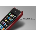 SGP Ultra Thin Genuine Leather Grip Infinity Rose for iPhone 3G/3GS