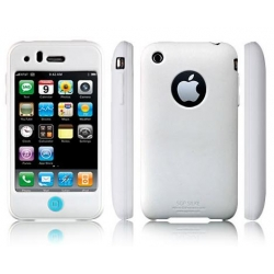 SGP SILKE Silicon Case Santorini White for iPhone 3G/3GS