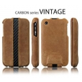 SGP Pouch Carbon series Vintage Brown for iPhone 3G/3GS