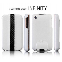 SGP Pouch Carbon series Infinity White for iPhone 3G/3GS