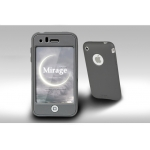 SGP SILKE Silicon Case Mirage Grey for iPhone 3G/3GS