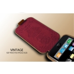 SGP Leather Pouch Vintage Edition Brown Flat for iPhone 3G/3GS