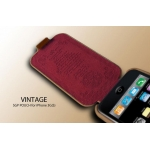 SGP Leather Pouch Vintage Edition Brown for iPhone 3G/3GS