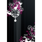 SGP Art Shield for iPhone 3G/3GS White Clock