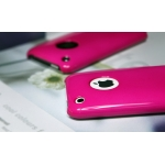 SGP Ultra Thin High Gloss Hot Pink (with Crystal Film) for iPhone 3G/3GS