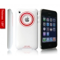 SGP Ultra Thin High Gloss Art Crimson (with Crystal Film) for iPhone 3G/3GS