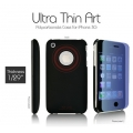 SGP Ultra Thin Art BK Crimson (with Crystal Film) for iPhone 3G/3GS