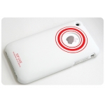 SGP Ultra Thin Art Crimson (with Crystal Film) for iPhone 3G/3GS