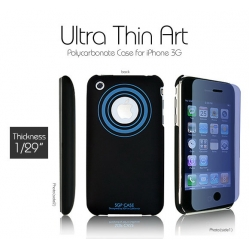 SGP Ultra Thin Art BK Ocean (with Crystal Film) for iPhone 3G/3GS