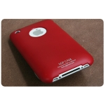 SGP Ultra Thin Red (with Crystal Film) for iPhone 3G/3GS