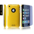 SGP Ultra Thin High Gloss Reventon Yellow (with Crystal Film) for iPhone 3G/3GS