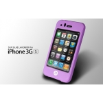 SGP SILKE Silicon Case Lavender iPhone 3G/3GS