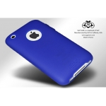 SGP SILKE Silicon Case Indiago Blue iPhone 3G/3GS