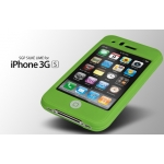 SGP SILKE Silicon Case Lime iPhone 3G/3GS