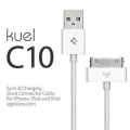 SGP USB Cable Kuel C10 White for iPad/iPhone/iPod (SGP07270)