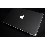 SGP Leather Laptop Cover Skin Deep Black for MacBook Pro 15""