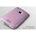 SGP Ultra Thin High Gloss Sherbet Pink (with Crystal Film) for iPhone 3G/3GS