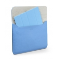 SGP Leather Case illuzion Sleeve Series Tender Blue for iPad 4, iPad 3, iPad 2, iPad (SGP07629)
