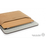SGP Leather Case illuzion Sleeve Series Vintage Brown for iPad 4, iPad 3, iPad 2, iPad (SGP07636)