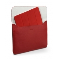 SGP Leather Case illuzion Sleeve Series Dante Red for iPad 4, iPad 3, iPad 2, iPad (SGP07633)