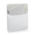 SGP Leather Case illuzion Sleeve Series White for iPad 4, iPad 3, iPad 2, iPad (SGP07634)