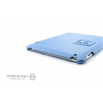 SGP Leather Case Stehen Series Tender Blue for iPad 4, iPad 3, iPad 2 (SGP07815)