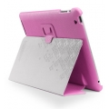 SGP Leather Case Stehen Series Sherbet Pink for iPad 4, iPad 3, iPad 2 (SGP07816)