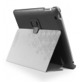 SGP Leather Case Stehen Series Black for iPad 4, iPad 3, iPad 2 (SGP07813)