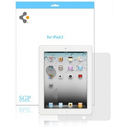 SGP Screen Protector Steinheil Series Ultra Crystal for iPad 2  (SGP07565)