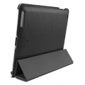 SGP Leather Case Griff Series Black for iPad 4, 3, 2 (SGP07693)