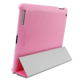 SGP Leather Case Griff Series Sherbet Pink for iPad 4, 3, 2 (SGP07697)
