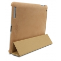 SGP Leather Case Griff Series Vintage Brown for iPad 4, 3, 2 (SGP07695)