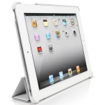 SGP Leather Case Griff Series White for iPad 4, 3, 2 (SGP07694)