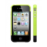 SGP Case Linear EX Frame Part A Lime for iPhone 4, 4S (SGP08714)