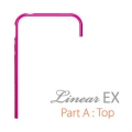 SGP Case Linear EX Frame Part A Fantasia Hot Pink for iPhone 4, 4S (SGP08718)