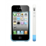 SGP Case Linear EX Frame Part B Tender Blue for iPhone 4, 4S (SGP08723)