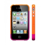 SGP Case Linear EX Frame Part B Hot Pink for iPhone 4, 4S (SGP08727)