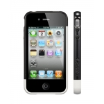 SGP Case Linear EX Frame Part B Infinity White for iPhone 4, 4S (SGP08728)