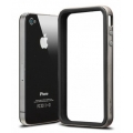 SGP Case Neo Hybrid-2 EX Series Gun Metal for iPhone 4, 4S (SGP07781)