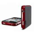 SGP Case Neo Hybrid-2 Color Series Dante Red for iPhone 4, 4S (SGP07778)