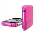 SGP Case Neo Hybrid-2 Color Series Fantasia Hot Pink for iPhone 4, 4S (SGP07777)