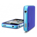 SGP Case Neo Hybrid-2 Color Series Tender Blue for iPhone 4, 4S (SGP07776)
