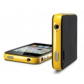 SGP Case Neo Hybrid-2 Color Series Reventon Yellow for iPhone 4, 4S (SGP07774)
